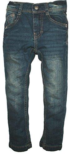 Lemmi Jungen Jeanshose Hose Jeans Boys Regular Fit Big, Blau (Blue Denim 0013), 152 (5-pocket-jeans Verziert,)