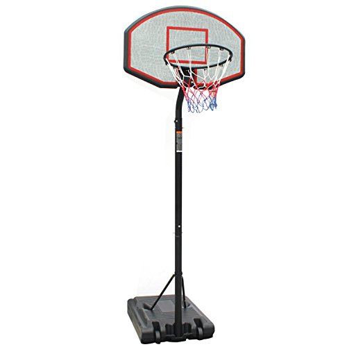 Iunnds Profi verstellbar Höhe Youth Basketballkorb & steht Court Home Basketball Set tragbar Rückwand
