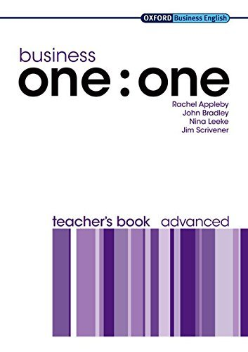 Business one:one Advanced Teacher's Book (Oxford Business English) by Rachel Appleby (2009-03-25)