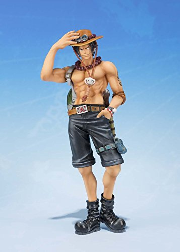 Bandai Tamashii Nations S.H.FiguartsZERO Portogas.D.Ace 5th Anniversary Edition One Piece Action Figure 5