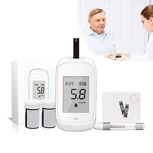 SUN RDPP Blutzuckermessgerät Blutzuckermessgerät Überwachungstest Testkit 50 Streifen 50 Lanzetten Fall in Mmol/L