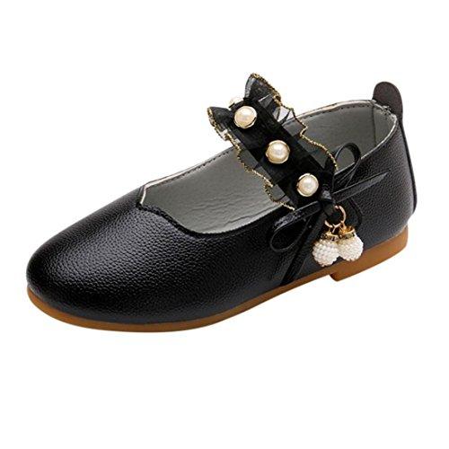 dc66c729781c0 ELECTRI Fille Butterfly Chaussures Princesse BéBé Filles Pendentif Perle  Bow Sandales Enfants Casual dans Mariage Chaussures