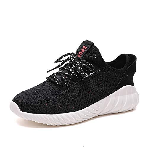 huge discount 9a01a 7b548 Femmes Élégantes Flyknit Running Sneakers Confortable Athletic Gym Workout  Outdoor Randonnée Chaussures De Marche pour Teen