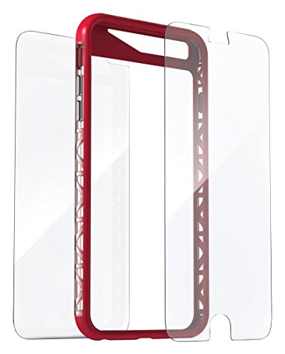 invisibleSHIELD Extreme Case + Folie für Apple iPhone 6/ 6S, rot -