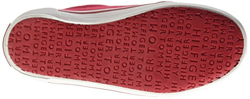 Tommy Hilfiger S3285later 2d_1, Low-Top Chaussures mixte adulte Rosso (Tango Red 611)