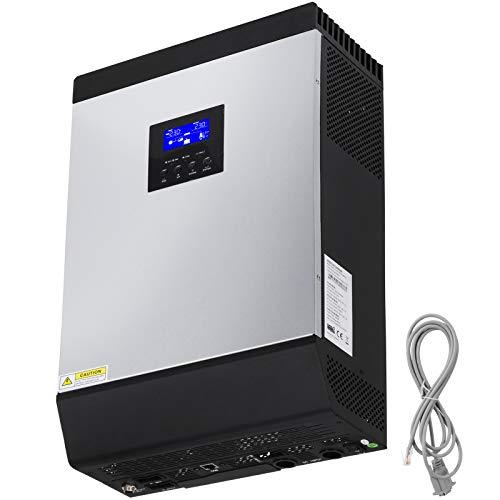Mophorn Power Inverter 5000W Autowechselrichter DC 48V bis AC 230V mit AC-Ladegerät und Solarregler MPPT Ac Power Inverter Ladegerät