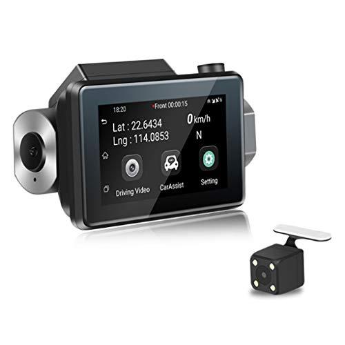 HAOHOAWU In Auto Dash Cam, 1080P HD Auto DVR Kamera 3G Mini Versteckt WiFi Fahren Recorder Loop-Aufnahme, G-Sensor, Bewegungserkennung