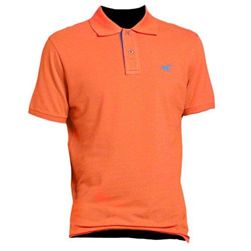 hollister-herren-slim-fit-pop-placket-polo-poloshirt-polohemd-shirt-grosse-small-orange-616797492