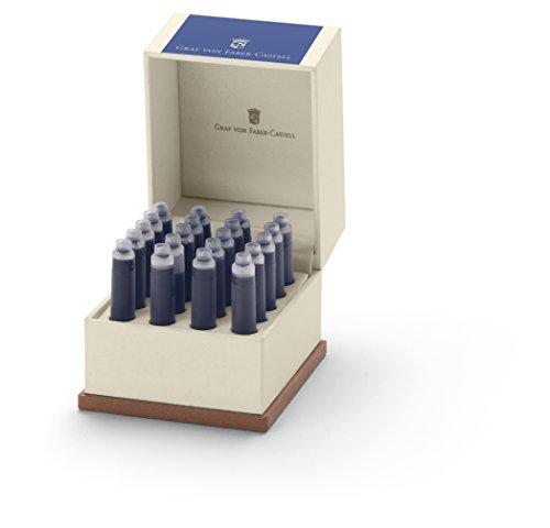 Graf von Faber Tintenpatronen 20er Royal Blue 141139