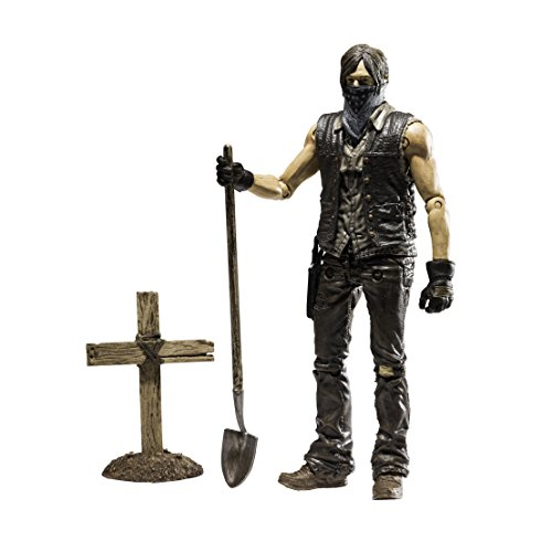 The Walking Dead Tv Series 9 - Grave Digger Dirt Daryl Dixon Action Figure (15Cm) - Figure Dixon Action