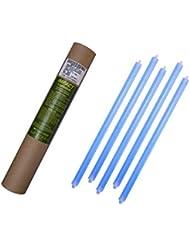 Cyalume - Paquete de 20 tubos luminosos SnapLight Impact, 40 cm, 15 pulgadas, 2 Anillas, 8 horas, no-embalados individualmente, color azul