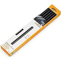 Steinel Schwarze Klebesticks 11 mm, 10 Sticks, 250 g, universeller Schmelzkleber für schwarzes Material