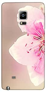 Snoogg Girly Pink Flower Designer Protective Back Case Cover For Samsung Gala...