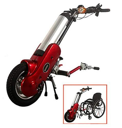BTHDPP Accesorios para Sillas De Ruedas Eléctricas Ruedas Eléctrica Handcycle Accesorio Handcycle para Discapacitados 36V 400W Sillas De Ruedas Plegables...