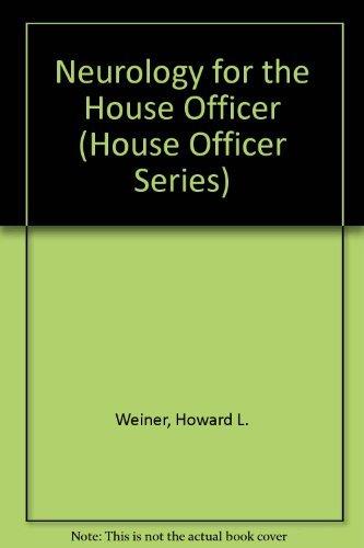 Neurology (House Officer) by Howard L. Weiner (1993-11-01)