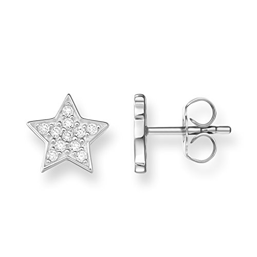 Thomas Sabo Damen-Ohrstecker Stern Glam & Soul 925 Sterling Silber H1868-051-14