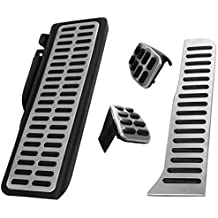 AERZETIX: 3 pedales reposapies de caja de cambio manual para coche vehiculos C40920