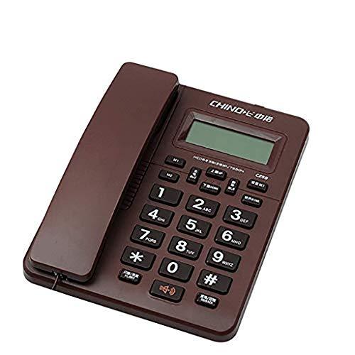 Gib niemals auf Feste Telefon Sitztyp Home Business Office Festnetz Single Machine One Button Dialing Free Battery (Color : 3) (Panasonic Office-telefon-system)