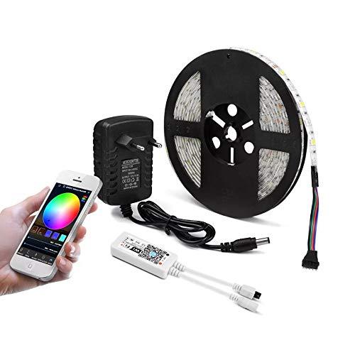Protium WiFi Smart RGB Light Strip Kit, 60LEDs/m