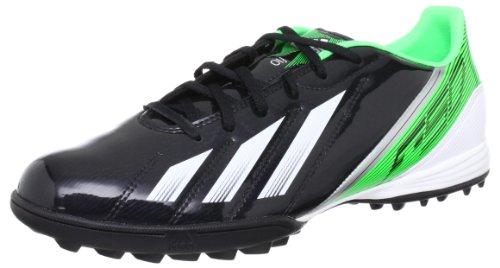 adidas Performance F10 TRX TF Q22437 Herren Fußballschuhe Schwarz (BLACK 1 / RUNNING WHITE FTW / GREEN ZEST S13)