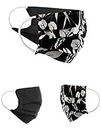 BAF 79_Black_Style79_OneSize Tissu Masque buccal et Nasal rÃutilisable, Cotton, Noir