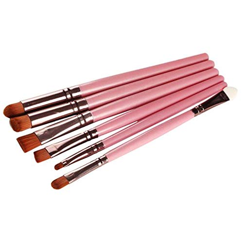 pitashe Make up Pinsel Set 6pcs Professionelle Holzgriff Makeup Pinsel Set Schminkpinsel...