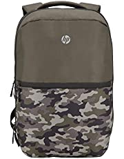 HP Titanium 15-inch Laptop Backpack (Green Camo)