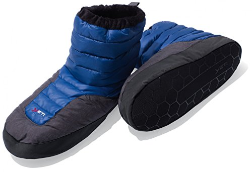Yeti sundown down boot - mollig warme Daunenschuhe - Farbe: blau Größe: L