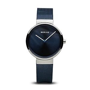 Bering Unisex Reloj de Pulsera analógico Cuarzo Acero Inoxidable