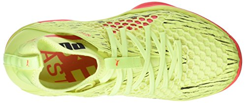 Puma Evospeed Netfit Euro 1, Chaussures Multisport Indoor Mixte Adulte Jaune (Fizzy Yellow-red Blast-puma Black)