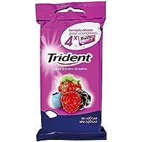 Trident Fruit Pellet Beeren Pack 4 Packung 14,5 g