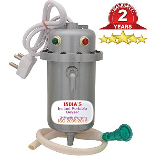 India's Water Geyser Instant Electric Water Geyser 100% ABS Body- Shock Proof 24 Month Warranty