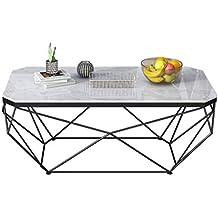 Amazon Fr Table Basse En Marbre Noir