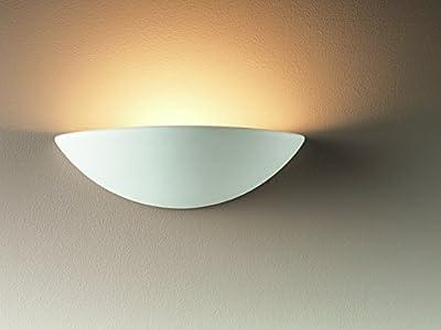 Nartel - Ceramic Wall Uplighter - cheap UK light store.