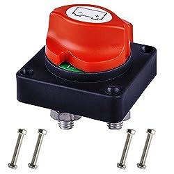 KKmoon Quick-Trennschalter f/ür Batterie Kraftfahrzeug geeignet f/ür LKW