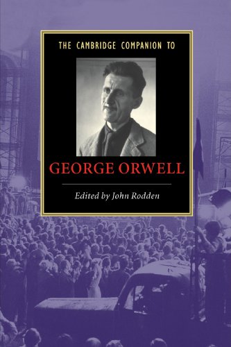 The Cambridge Companion to George Orwell Paperback (Cambridge Companions to Literature) por Rodden