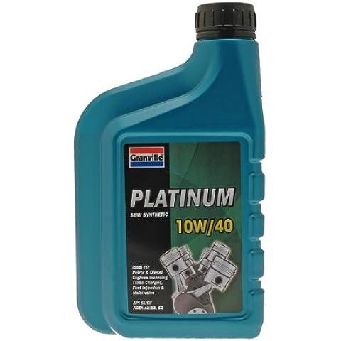 Granville 0045A Platinum- Aceite sintético de motores diésel y gasolina (10W-40, 1 l)