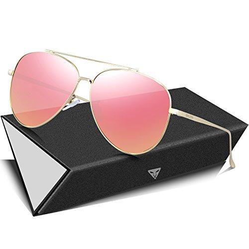 enbrille Polarisierte Sonnenbrille 8002-Pink ()