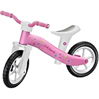 Lightweight Girls Pink First Childrens / Toddler / Kids Balance Bike No Pedals Suitable Ages 2, 3 & 4