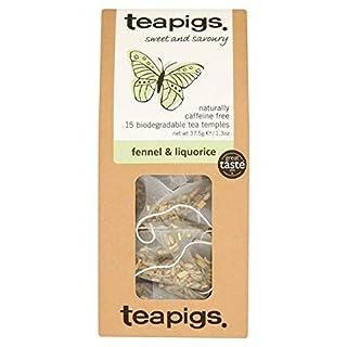 Teapigs | Fennel & Liquorice Tea | 3 X 15 Bags