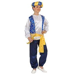 widmann-wdm55396bañador para niño, Color blanco Azul Amarillo Negro, wdm55396