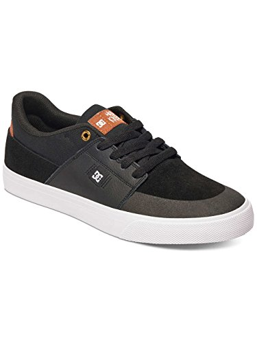 Dc Shoes Wes Kremer, Espadrillas Basse Uomo Multi-couleurs - Negro / Marrón / Blanco