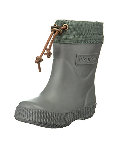 """Bisgaard Unisex-Kinder Rubber Boot """"Winter Thermo"""" Gummistiefel Grau"""