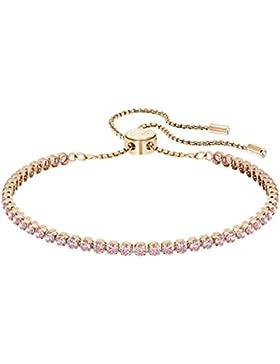 Swarovski Damen-Armband rhodiniert Kristall rosa 24 cm - 5274312