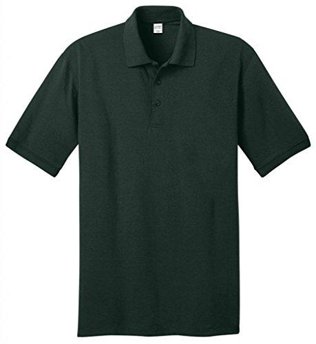 Port & Company hoch 5.5-ounce Jersey Knit Polo kp55t Dunkelgrün