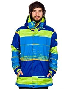 Snowwear Jacket Men Quiksilver Mission 10K Printed Jacket