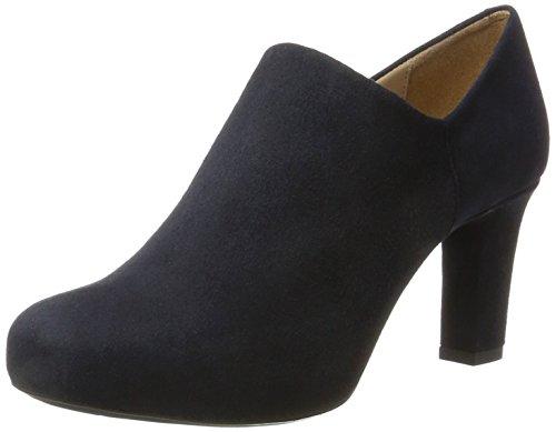 Unisa Nenet_f17_ks, Zapatos de Tacón para Mujer, Azul (Baltic), 37 EU
