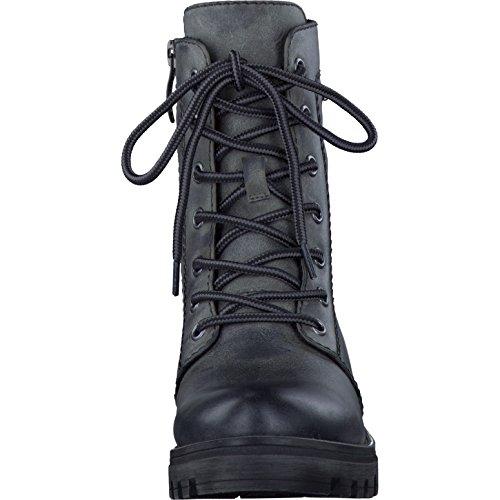 Tamaris Damenschuhe 1-1-26209-27 Damen Schnürstiefel, Stiefel, Boots Graphite