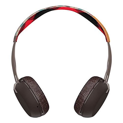 SKULLCANDY - Skullcandy Grind Wireless, casque supra-aural - Blanc/Noir/Rouge