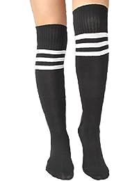 Chaussettes Sur Genou Baseball Basketball Football Sport Pour Femme